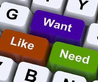 Want vs Need | Ashwood Therapy Blog